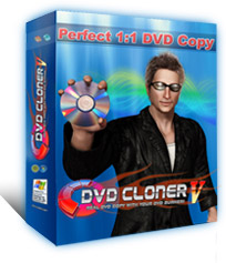 DVD Cloner V - Perfect 1:1 DVD Copy